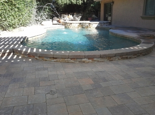 Remodeled Pool and Raised Spa